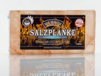 Don Marco´s Barbecue Salzplanke Original Grillsalzstein 20x10x2cm Bild 1