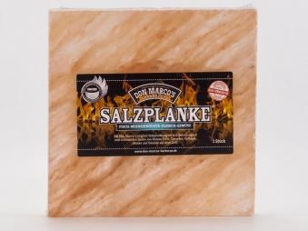 Don Marco´s Barbecue Salzplanke Original / Grillsalzstein 20x20x2,5cm Bild 1