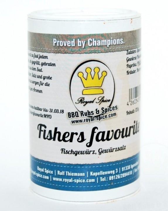 Royal Spice Fishers Favourite Gewürzsalz 120g Bild 1