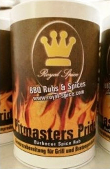 Royal Spice Pitmasters Pride BBQ Spice Rub Gewürzmischung 350g Bild 1