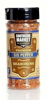 SOUTHSIDE MARKET Six Pepper Seasoning Gewürzmischung 170g Bild 1
