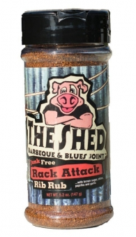 THE SHED BBQ Rack Attack Rib Rub Gewürzmischung 147g Bild 1
