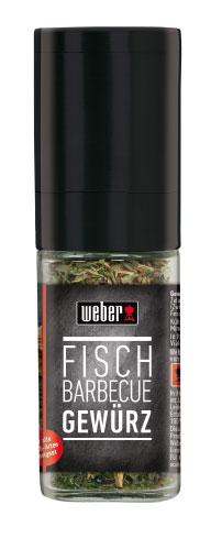 Weber Gewürz / Gewürzmühle Fisch Barbecue 18g Bild 1