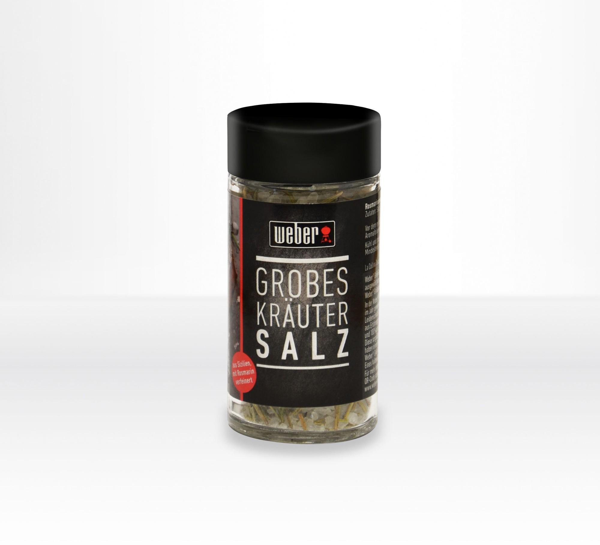 Weber Gewürz / Nachfüllglas Grobes Gewürz Salz 80 g Bild 1
