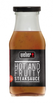 Weber Grillsauce Steaksauce Hot & Fruity 240ml Bild 1