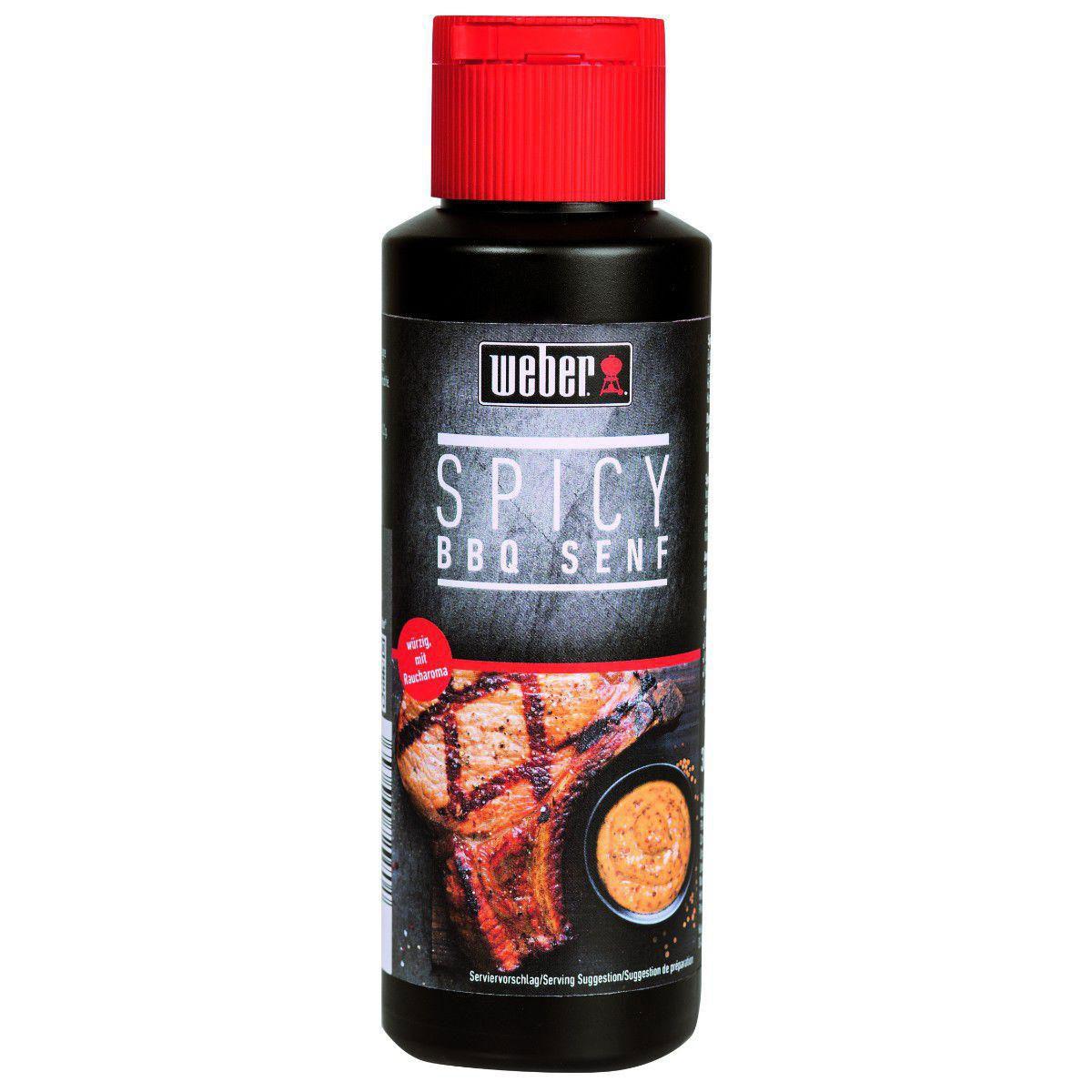 Weber Spicy BBQ Senf 300ml Bild 1