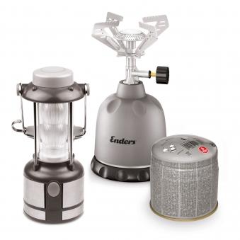 Enders Trekking-Set LED-Leuchte / Gaskocher / Gaskartusche Bild 1