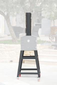 Rauchrohr und Untergestell für Holzbackofen Vulcano 3 Bild 1