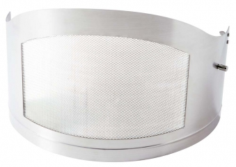 Funkenschutztüre für asado Gartenkamin Fuego ES/ EH Edelstahl Bild 1