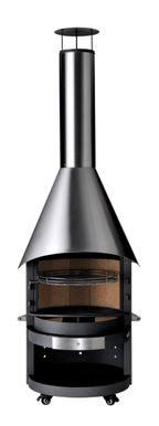Grillkamin / Gartenkamin asado Fuego EH mit Edelstahlhaube Bild 1