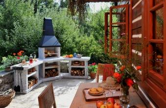 Wellfire Grillkamin / Außenküche Toskana Quatro Eckversion je 188cm Bild 2