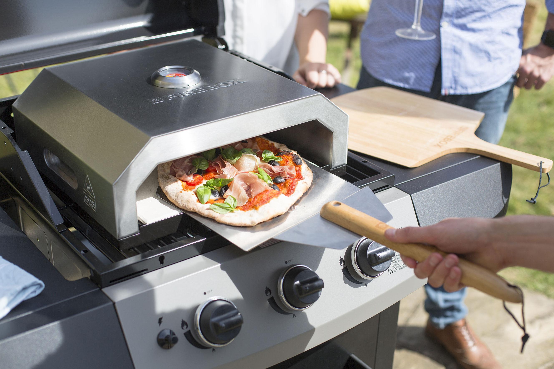 Buschbeck Pizzaofen Firebox Edelstahl 40x33x15 cm Bild 3