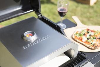 Buschbeck Pizzaofen La Hacienda Pizzabox Edelstahl 40x33x15 cm Bild 4
