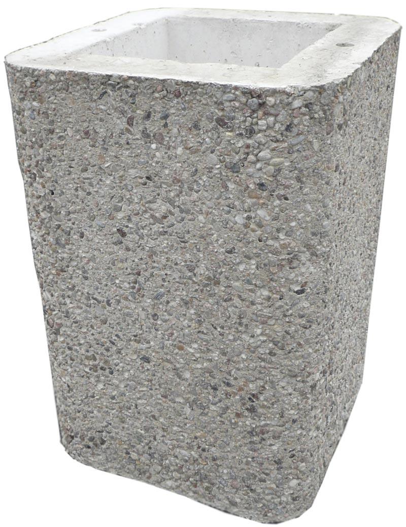 haubenverl ngerung 40cm beton f r gartengrill wellfire nova braun bei. Black Bedroom Furniture Sets. Home Design Ideas