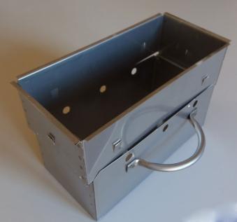 Wellfire Aschekasten Standard 2-teilig Edelstahl Bild 1