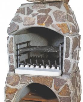 Wellfire Grilleinsatz mit Feuerrost / Grillrost für Grillkamin Landau Bild 1