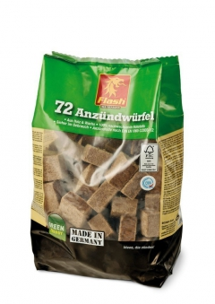 Grillanzünder / Kamin Anzünder Flash Holz & Wachs 72 Stück Bild 1