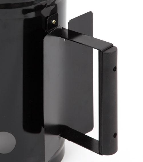 Tepro Anzündkamin für Holzkohle Stahl schwarz Bild 2