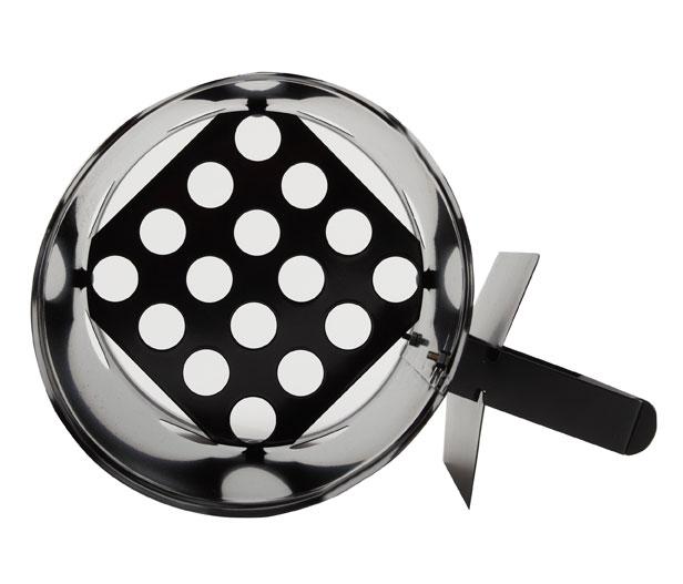 Tepro Anzündkamin für Holzkohle Stahl schwarz Bild 3