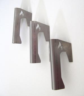 Abstandshalter für Feuerplatte auf Feuertonne Freiluftküche 3 Stück Bild 1