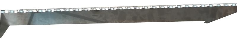 Edelstahl Abstandshalter für Feuerplatten 800 Freiluftküche Bild 3