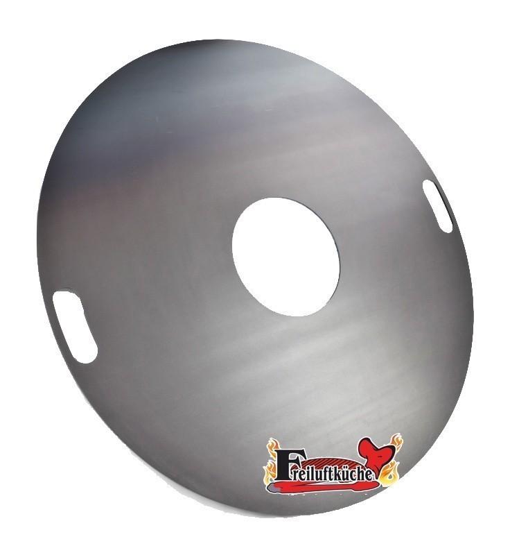 Feuerplatte, Grillplatte, Grillring, Plancha für Stahltonne 80 Bild 1