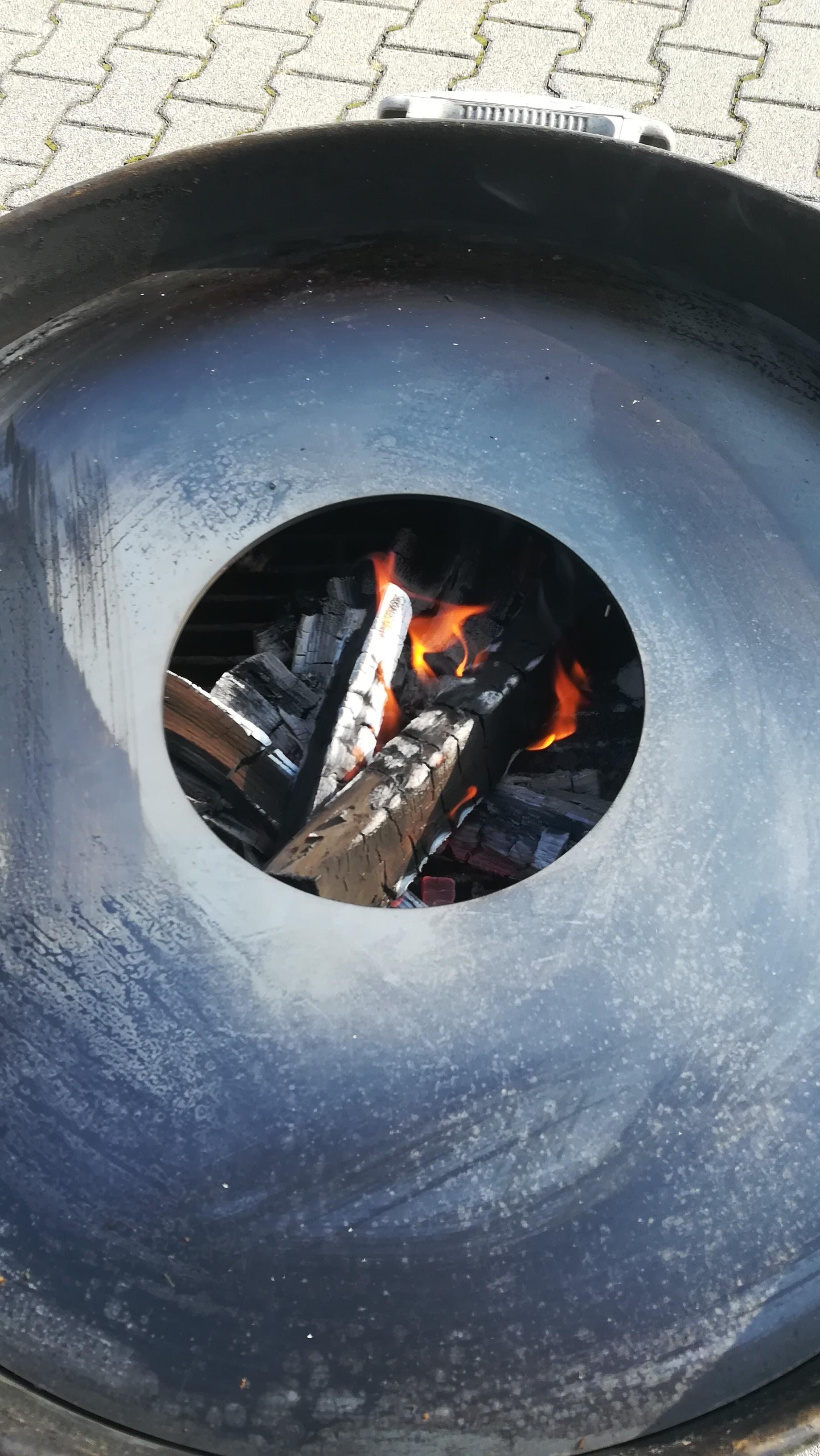 Feuerplatte mit Fass Grillplatte / Plancha / BBQ Bild 5