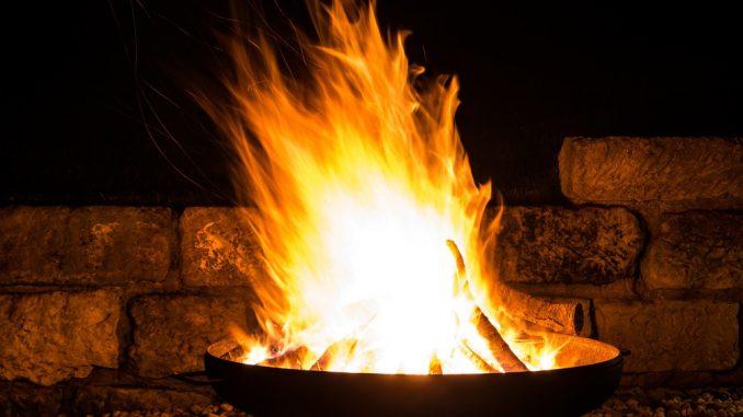 Funkenschutz für Feuerschalen 54cm Bild 3