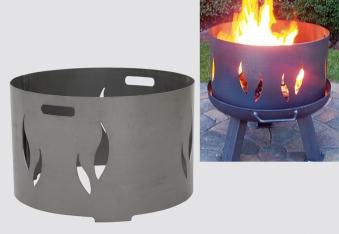 Funkenschutz für Feuerschalen 54cm Bild 2