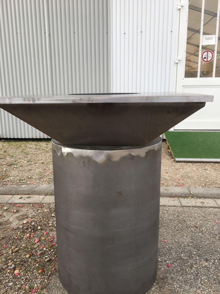 Stahlgrill Fire-BBQ 101 Gartenfeuer und Grill Cortenstahl Edelrost Bild 4