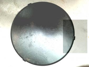 Wokaufsatz für Feuerplatte Ø200 mm Edelstahl Bild 5