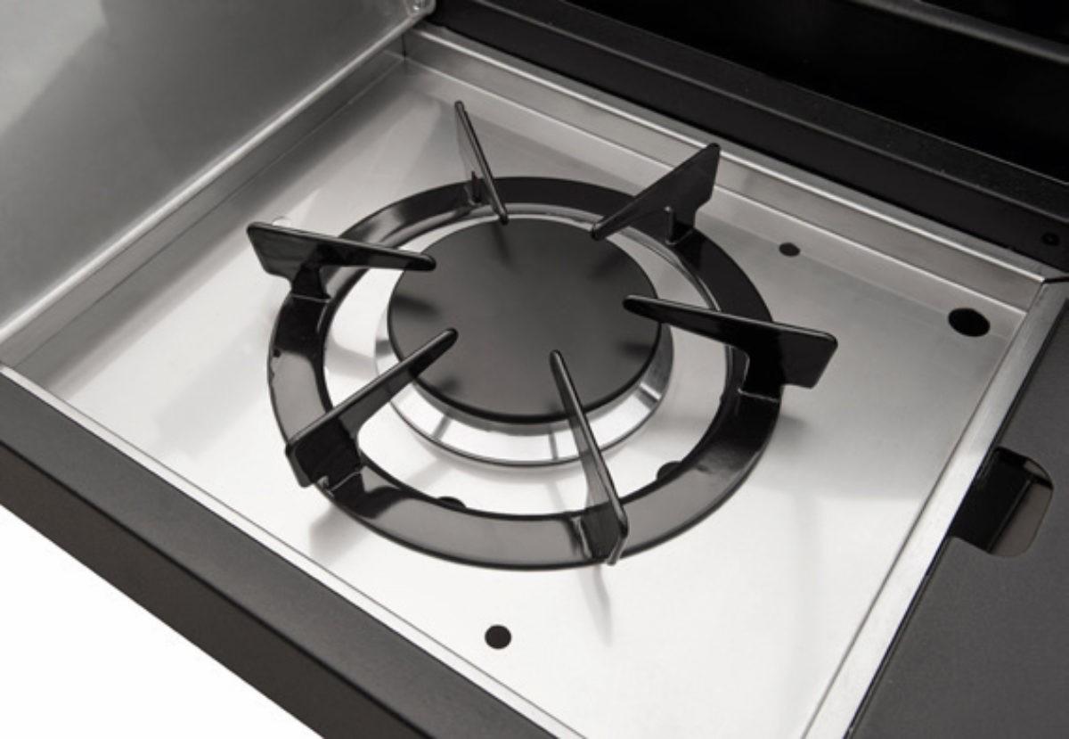 CADAC Gasgrill / Grillwagen Stratos 3B + SB schwarz Grillfl. 58x41,5cm Bild 3