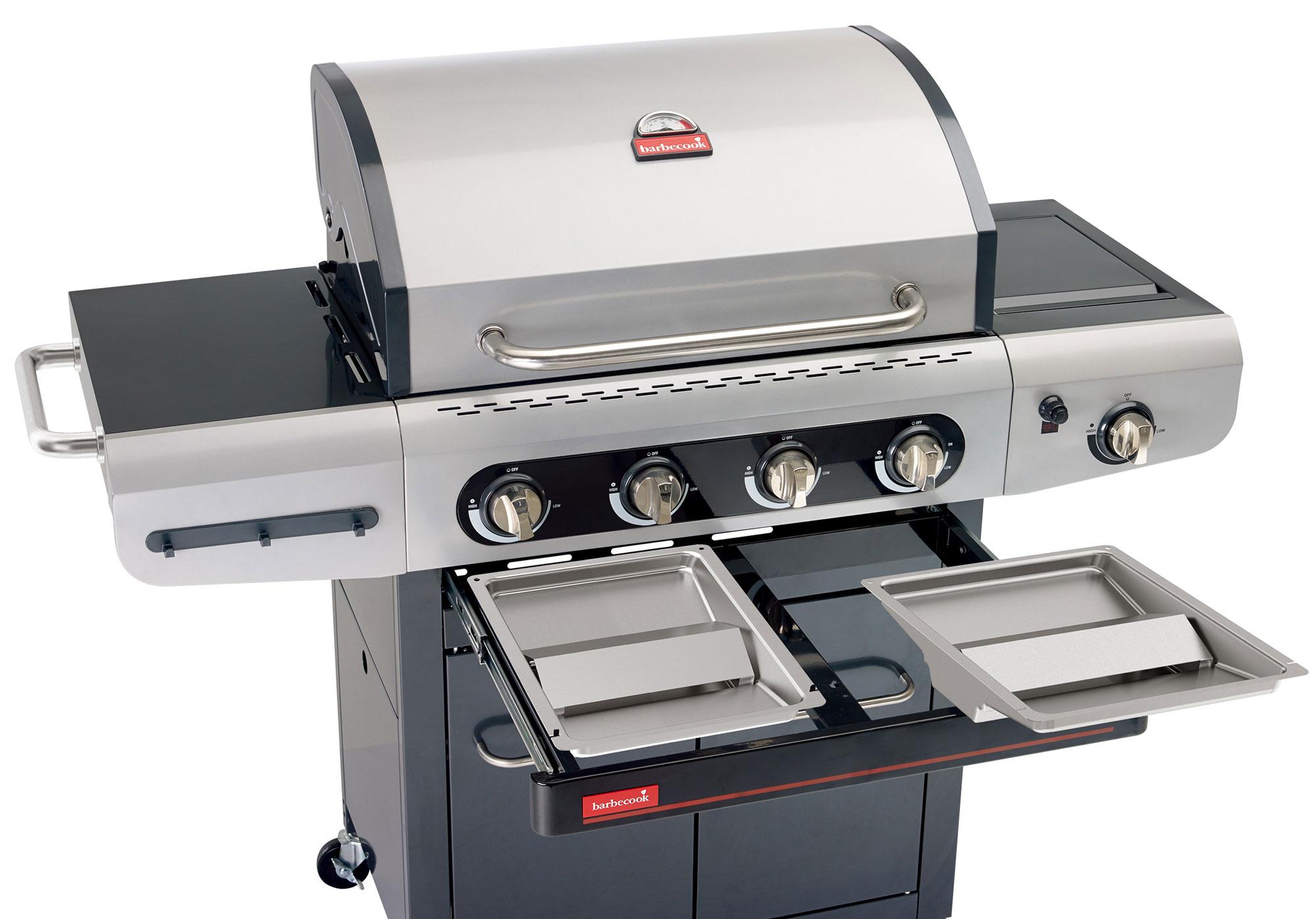 Gasgrill / Gasgrillwagen barbecook Siesta 412 Grillfläche 70x43cm 14kW Bild 3