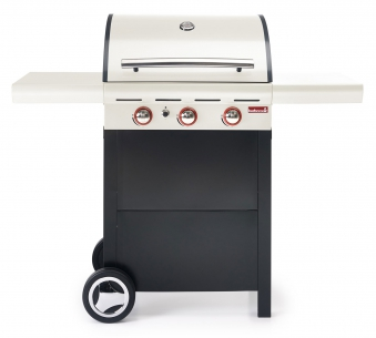 Gasgrill / Gasgrillwagen barbecook Spring 300 creme 63x43cm 11,4kW Bild 1
