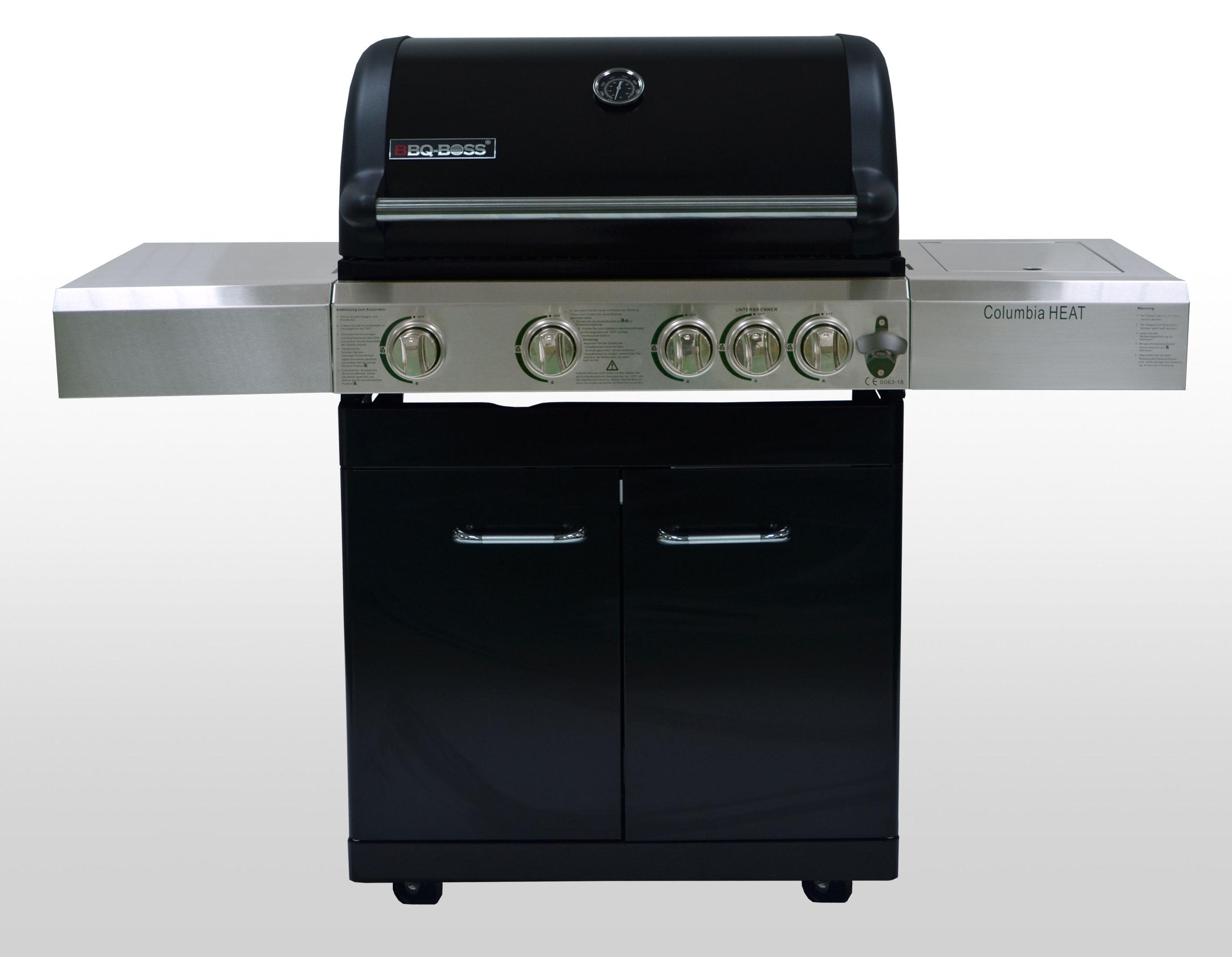 Gasgrill / Grillwagen BBQ Boss Columbia Heat Grillfläche 74x46cm Bild 1