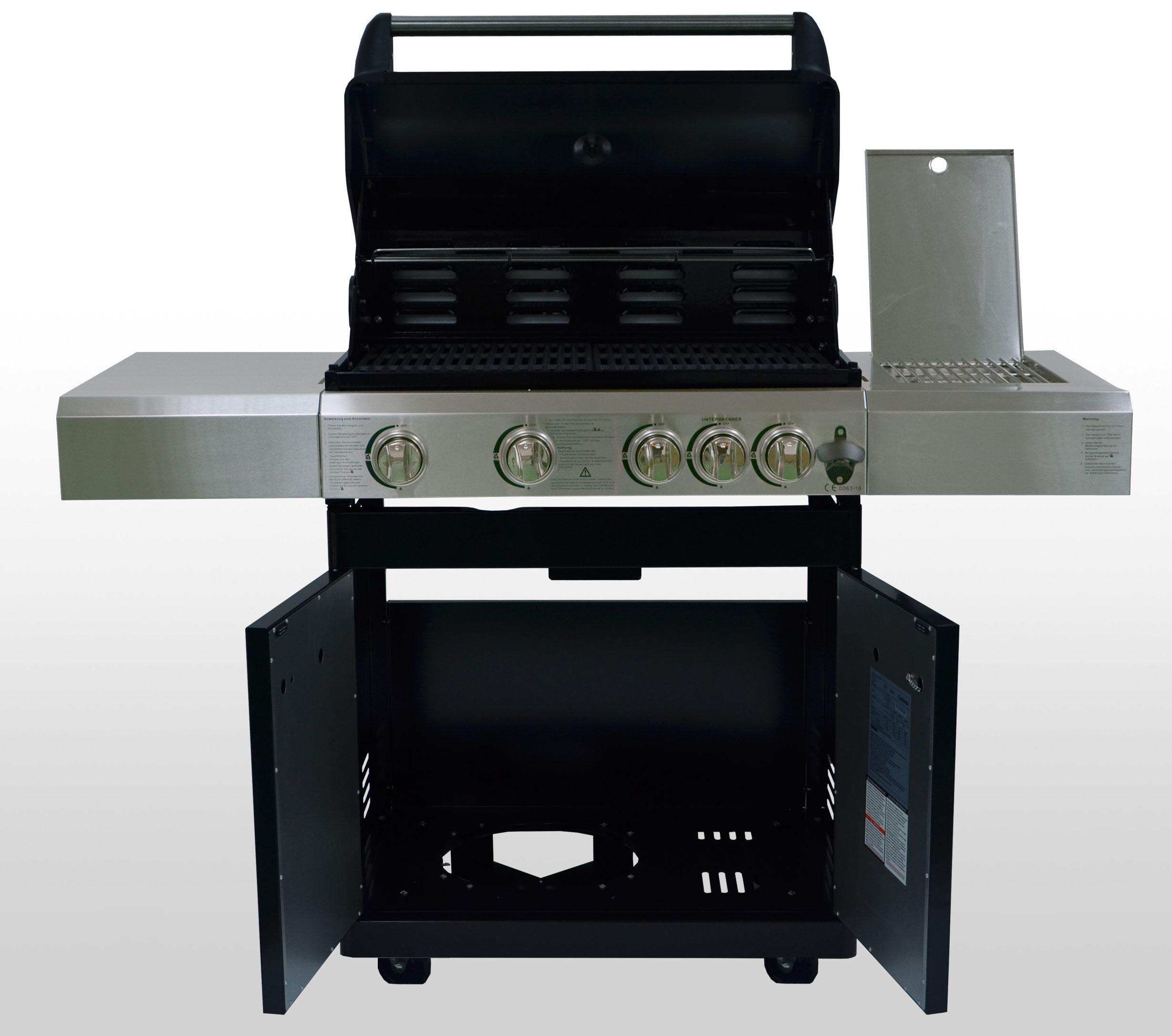 Gasgrill / Grillwagen BBQ Boss Columbia Heat Grillfläche 74x46cm Bild 2
