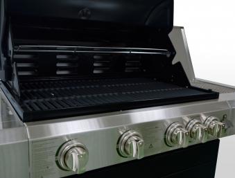 Gasgrill / Grillwagen BBQ Boss Columbia Heat Grillfläche 74x46cm Bild 3