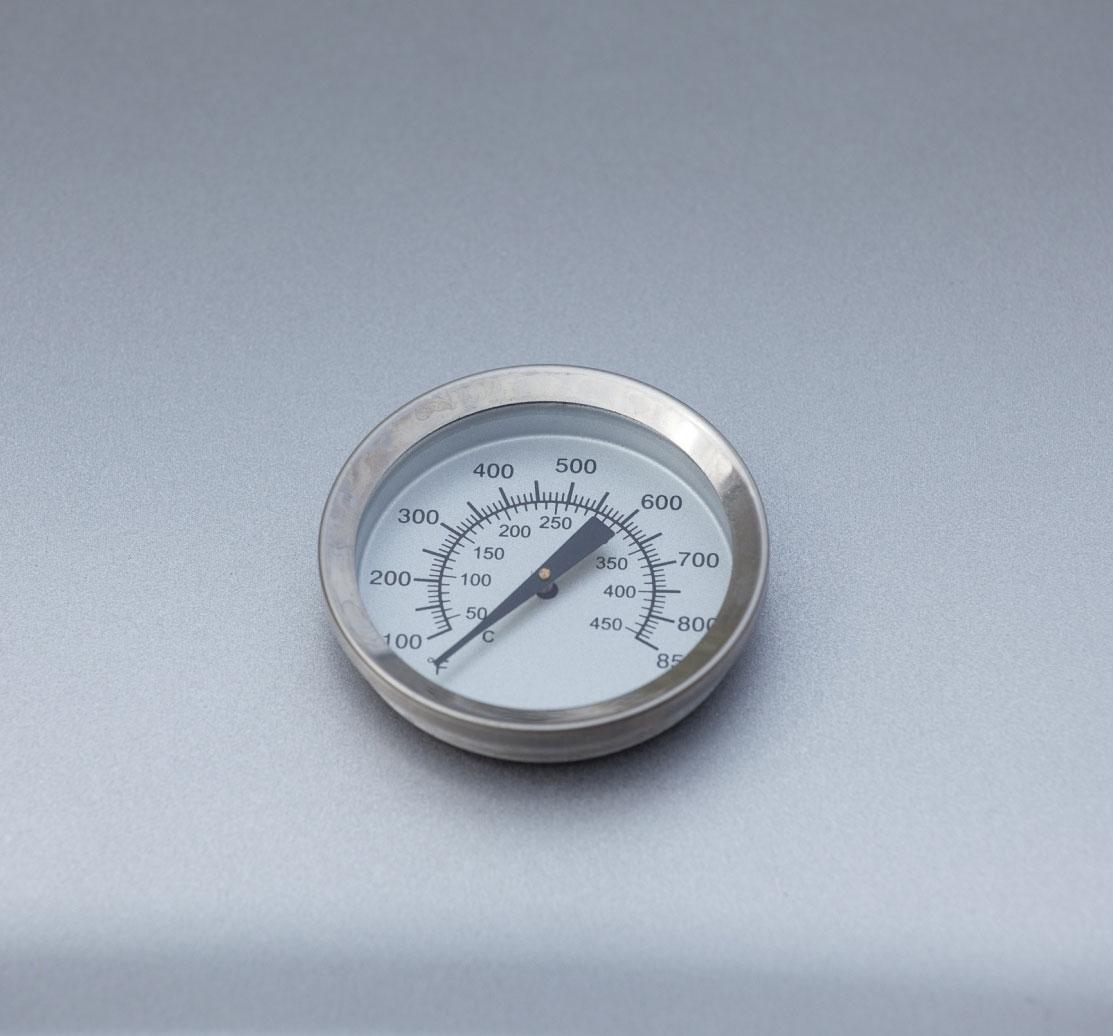 Gasgrill / Grillwagen El Fuego Dayton 4+1 silber Grillfläche 64x35cm Bild 9
