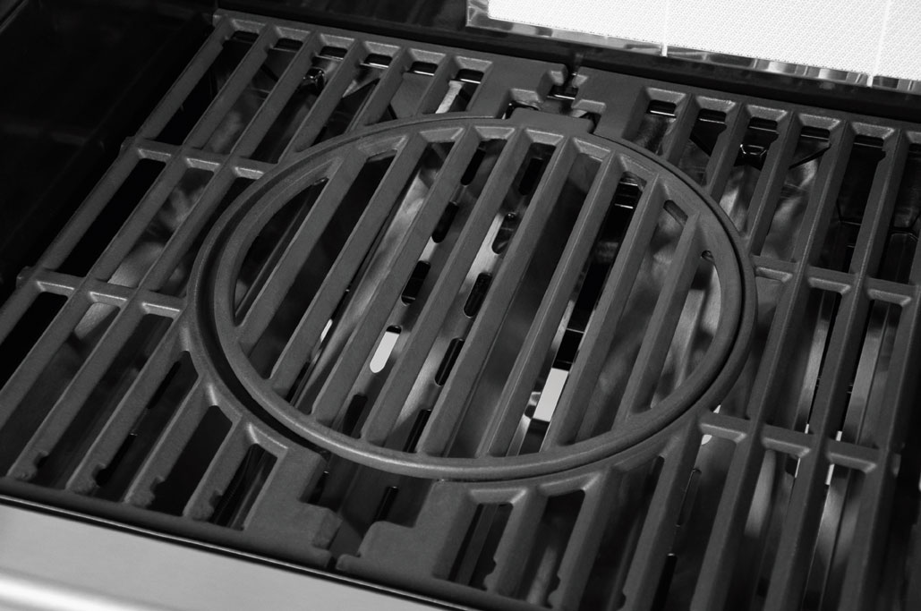 Gasgrill / Grillwagen Justus Mars Grillfläche 76 x 46,5 cm Bild 2