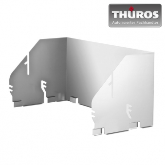 THÜROS Windansteckblech für Thüros T4 / Thüros II Edelstahl