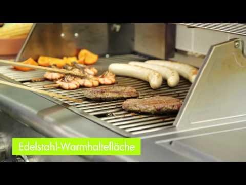 Tepro Gasgrill / Grillwagen Manhattan Grillfl. 67,5x45cm Video Screenshot 1031