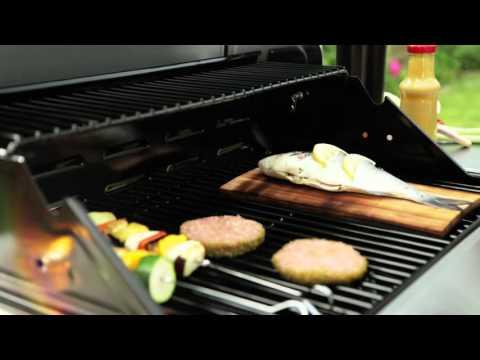 Tepro Gasgrill / Grillwagen Wellington Edelstahl Grillfläche 58x40cm Video Screenshot 1024
