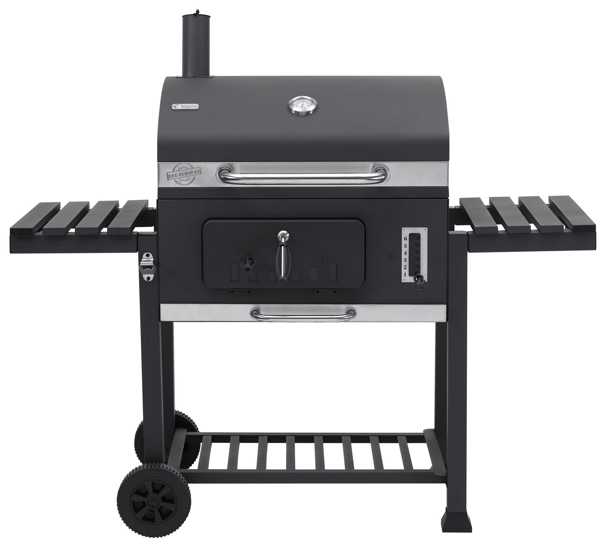 tepro holkohlegrill grillwagen toronto xxl grillfl che 71x46cm bei. Black Bedroom Furniture Sets. Home Design Ideas