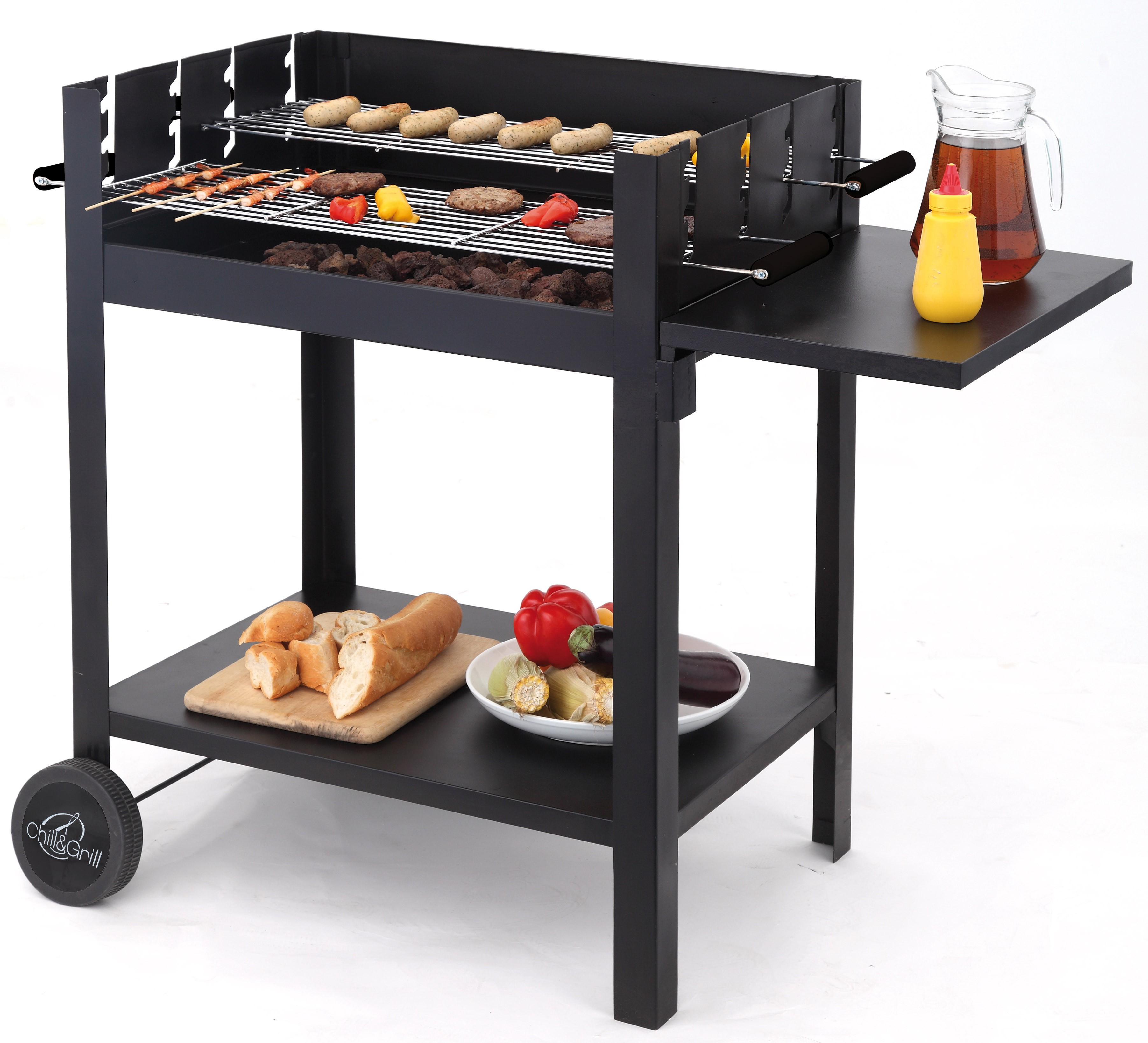 tepro holzkohlegrill chill grill lambada grillwagen bei. Black Bedroom Furniture Sets. Home Design Ideas