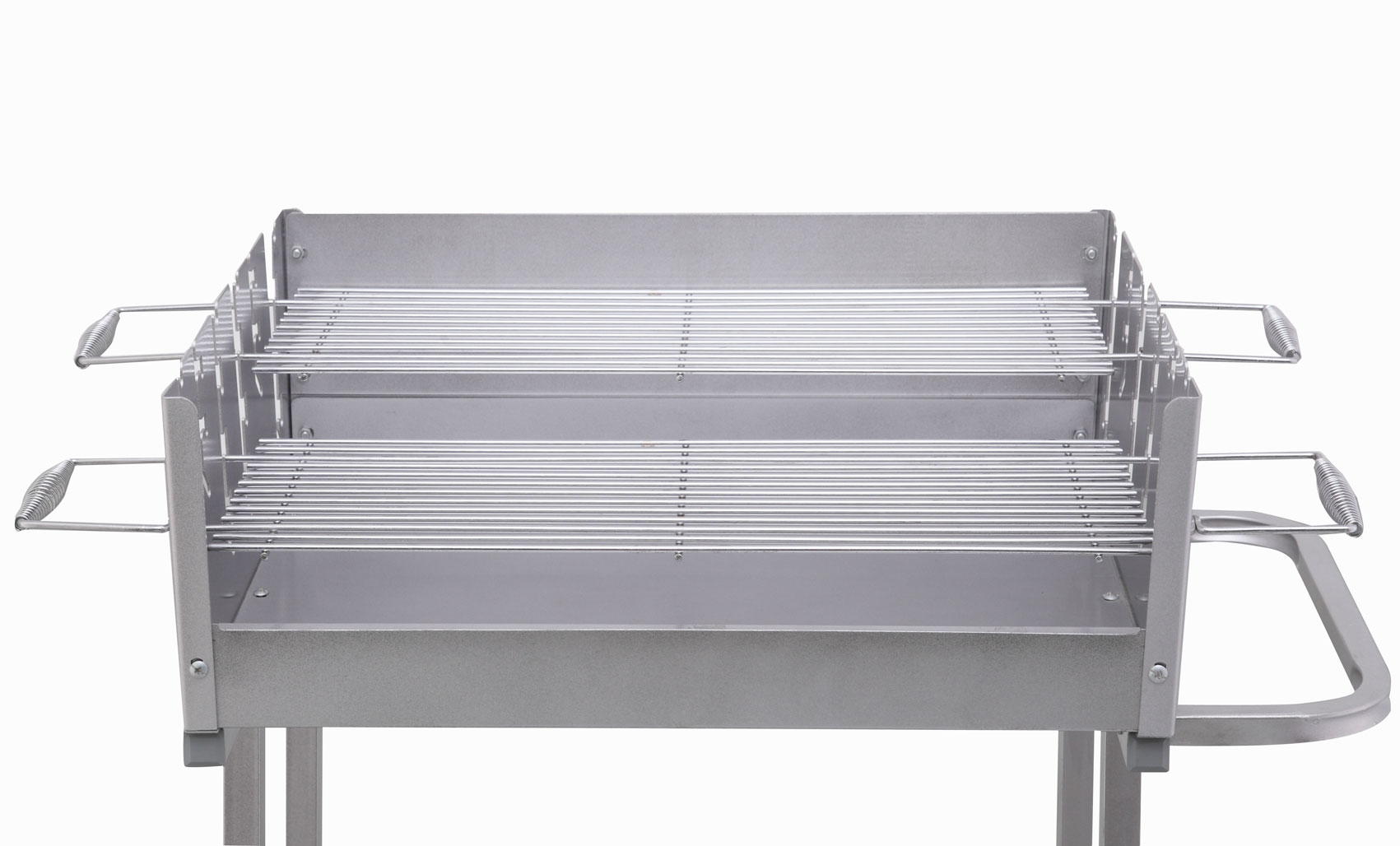 Tepro Holzkohlegrill / Grillwagen Pasadena Grillfläche 58x20,5cm Bild 3