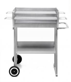 Tepro Holzkohlegrill / Grillwagen Pasadena Grillfläche 58x20,5cm Bild 1