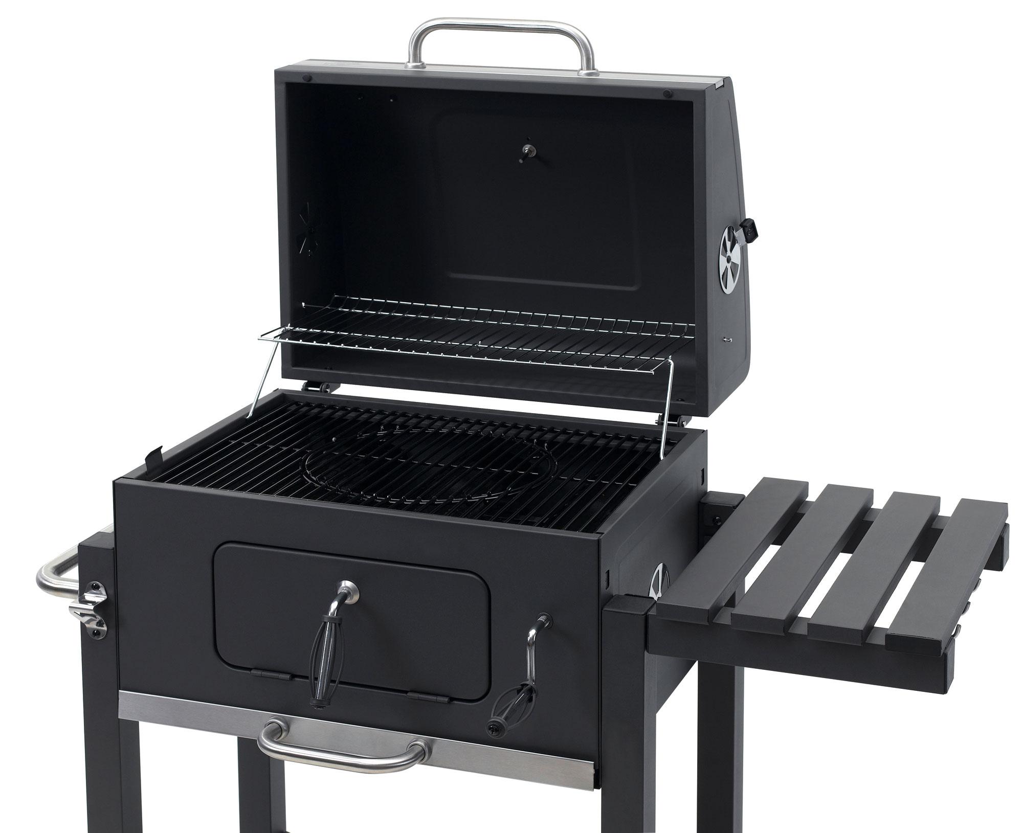 Tepro Holzkohlegrill Toronto Click Abdeckhaube : Tepro holzkohlegrill grillwagen toronto click grillfläche