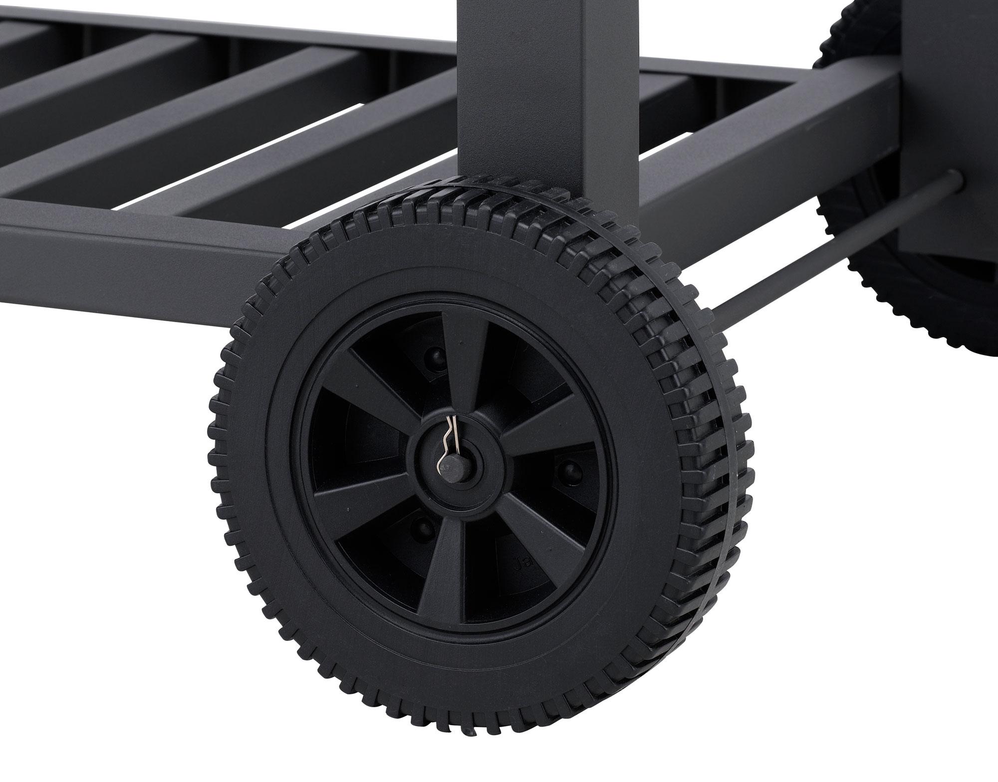 Tepro Holzkohlegrill / Grillwagen Toronto XXL Grillfläche 72x46cm Bild 16