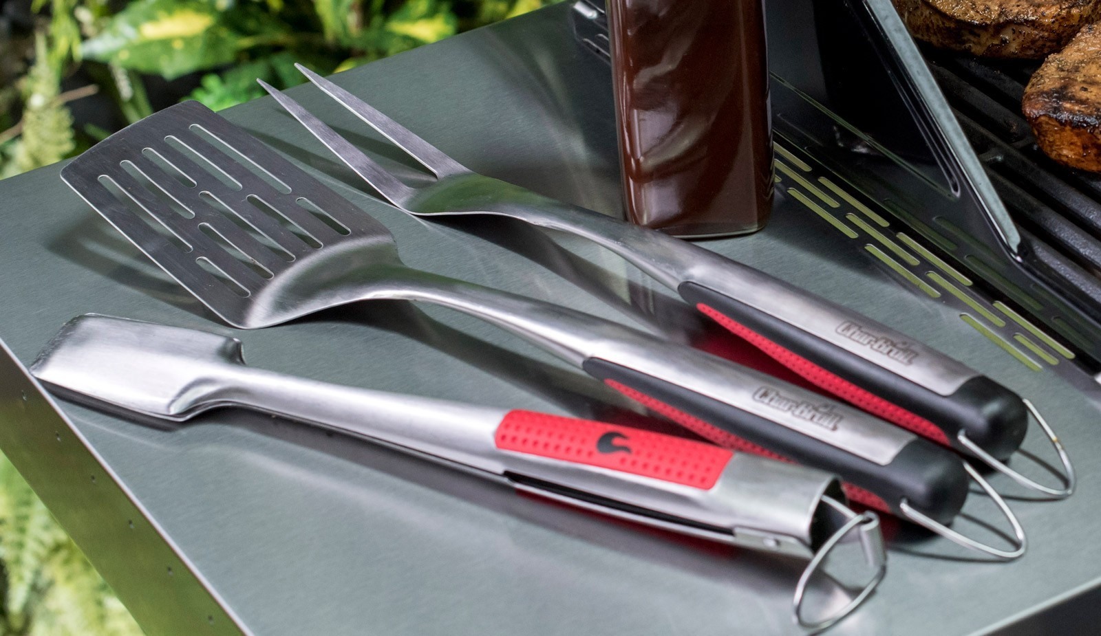 Char-Broil Grillbesteck 7709 Premium 3-teilig Bild 1