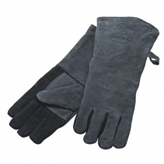 Grillhandschuhe / Handschuhe Rösle für Grill Leder Bild 1